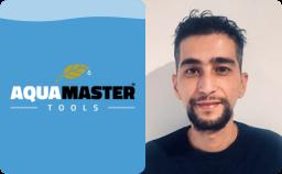 Logo Aqua Master Tools en Ab