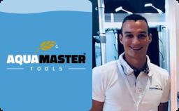 Logo Aqua Master Tools en Pim